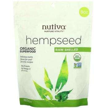 Купить Nutiva Hempseed Organic Superfood Raw Shelled 227 g