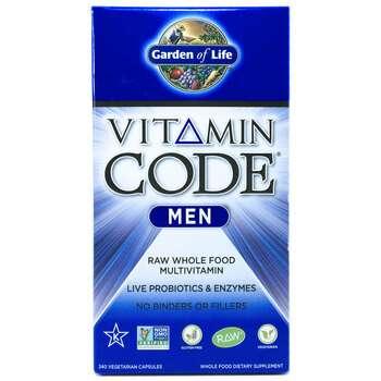 Купить Vitamin Code Men 240 Veg Caps (Сирі Мультівітаміни для чоловік...