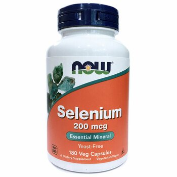 Купить Now Foods Selenium 200 mcg 180 Veggie Caps