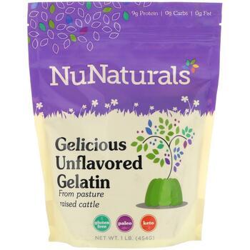 Купить Gelicious Unflavored Gelatin 1lb 454 g
