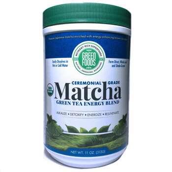 Купить Green Foods Corporation Organic Matcha Green Tea 312 g
