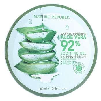 Купить Soothing & Moisture Aloe Vera 92% 300 ml ( Пом'якшувальний...