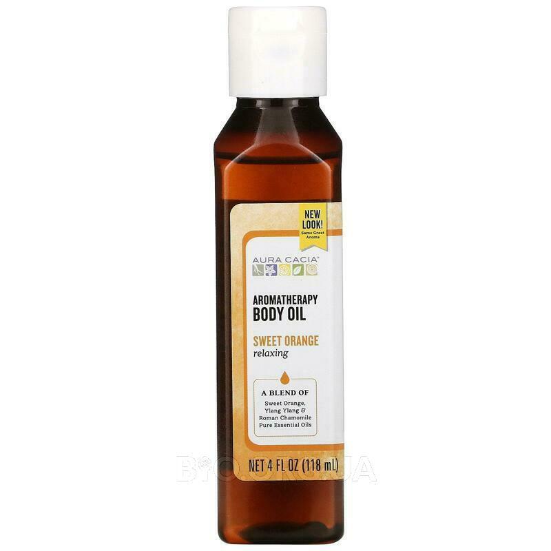 Аура Кассия масло для тела Расслабляющий сладкий Апельсин 118 мл фото товара