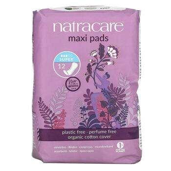 Купить Натуральные и натуральные макси-прокладки Natracare 12 Super Pads