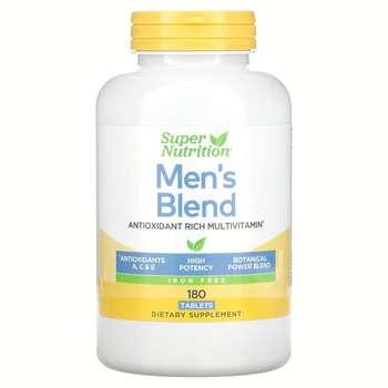 Купить Super Nutrition Men's Blend Antioxidant Rich Multivitamin Iron...