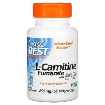 Купить L-Carnitine Fumarate with Biosint Carnitines 855 mg 60 Veggie ...