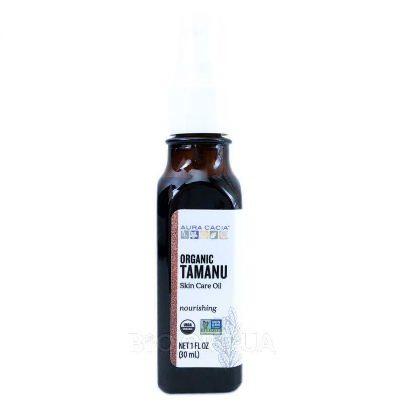 Аура Кассия органическое питательное масло Таману 30 мл фото товара
