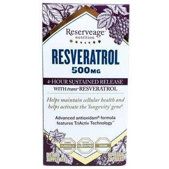 Купить ReserveAge Nutrition Resveratrol 500 mg 60 VCaps