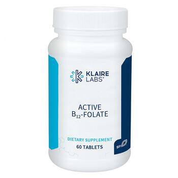 Купить Active B12-Folate Methylcobalamin L-5-MTHF 60 Dissolvable Tablets