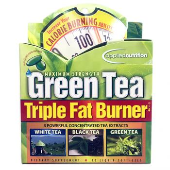 Купить Green Tea Triple Fat Burner 30 Liquid Softgels (Зелений чай дл...