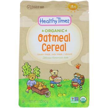 Купить Healthy Times Organic Oatmeal Cereal 4+ Months 142 g