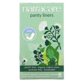 Купить Natracare Panty Liners Покрытие из органического хлопка Mini 3...