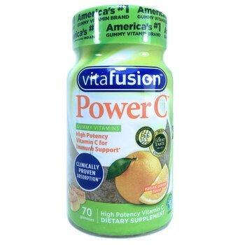 Купить Power C Natural Orange 70 Gummies