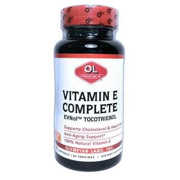 Купить Vitamin E Complete 60 Softgels