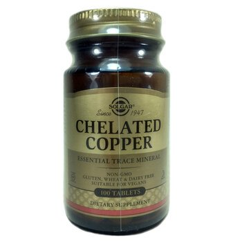 Купить Solgar Chelated Copper 100 Tablet