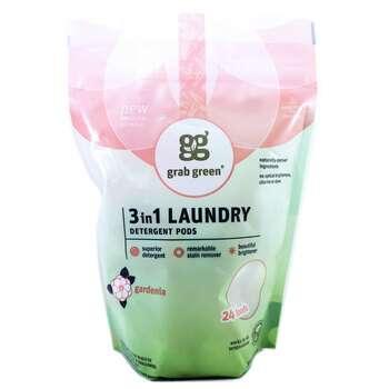 Купить 3-in-1 Laundry Detergent Pods Gardenia 24 Loads 384 g ( 3-в-1 ...