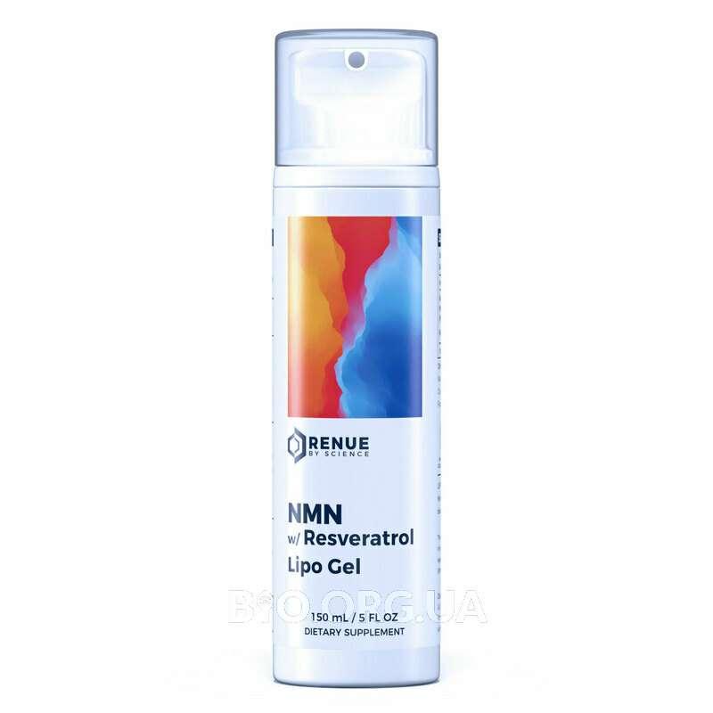 LSG NMN with Resveratrol Liposomal Sublingual Gel 150 ml