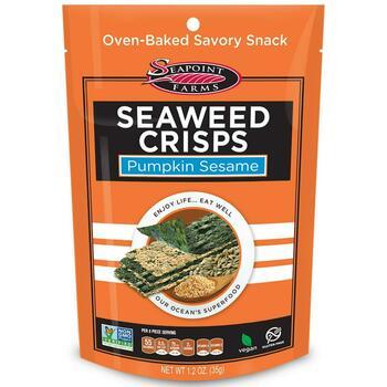 Купить Seapoint Farms Seaweed Crisps Pumpkin Sesame 1 35 g