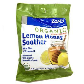 Купить Organic Herbalozenge Lemon Honey Soother 18 Lozenges (Соска  O...