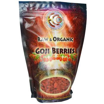 Купить Earth Circle Organics Goji Berries Raw Organic 454 g