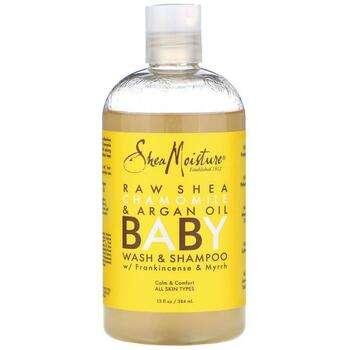Купить SheaMoisture Baby Wash & Shampoo With Frankincense & Myrrh 384 ml