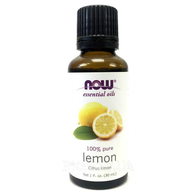 100% Эфирное масло Лимон 30 мл фото товара