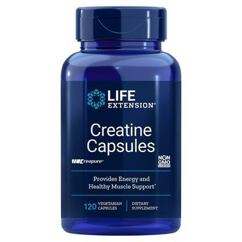 Купить Life Extension Creatine Capsules 120 Vegetarian Capsules