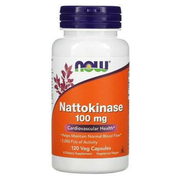 Купить Nattokinase 100 mg 120 Vcaps (Наттокиназа 100 мг 120 капсул)
