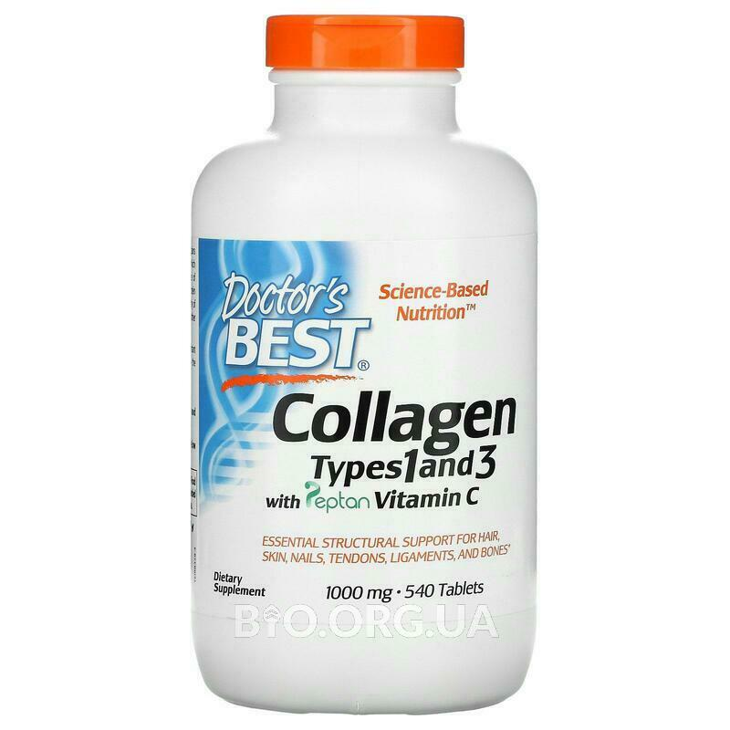 Коллаген типа 1 и 3 1000 мг 540 таблеток фото товара