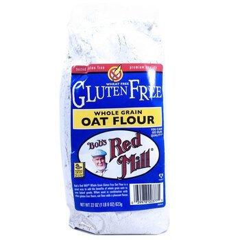 Купить Whole Grain Oat Flour Gluten Free 623 g