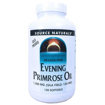 Купить Source Naturals Evening Primrose Oil 1350 mg 120 Softgels