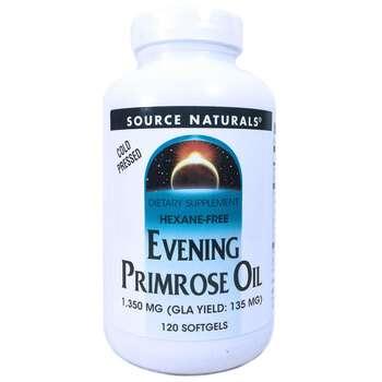 Купить Source Naturals Evening Primrose Oil 1350 mg 120 Softgels