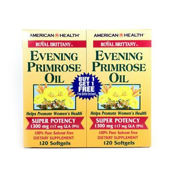 Купить American Health Royal Brittany Evening Primrose Oil 1300 mg 2 ...