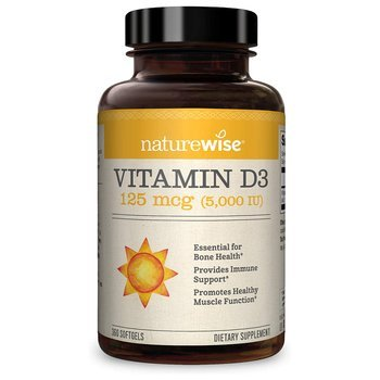 Купить Vitamin D3 5000 IU 360 Softgels