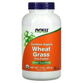 Купить Now Foods Certified Organic Wheat Grass 255 g