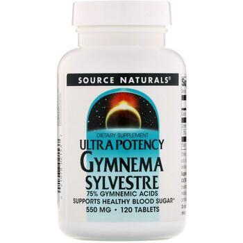 Купить Source Naturals Ultra Potency Gymnema Sylvestre 550 mg 120 Tab...