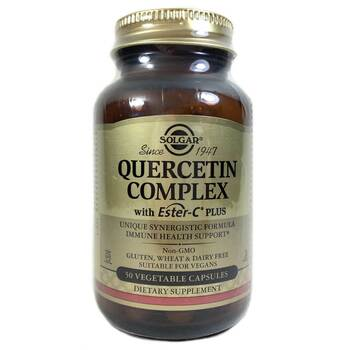 Купить Quercetin Complex with Ester C Plus 50 Vegetable Capsules ( Кв...