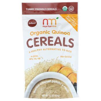 Купить Organic Quinoa Cereals Quinoa Sweet Potato Raisin Infant 104 g...