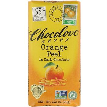 Купить Chocolove Orange Peel in Dark Chocolate 90 g