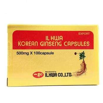 Купить Ilhwa Korean Ginseng Capsules 500 mg 100 Capsules