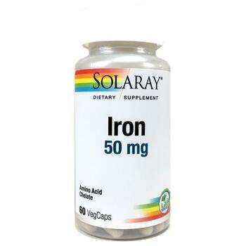 Купить Iron 50 mg 60 Veggie Caps