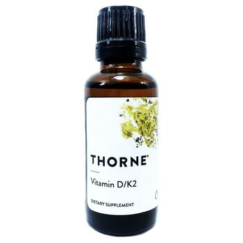 Купить Thorne Research Vitamin D/K2 30 ml