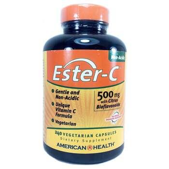 Купить American Health Ester-C with Citrus Bioflavonoids 500 mg 240 V...