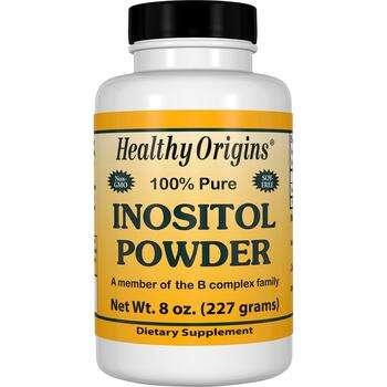 Купить Inositol Powder 227 g (Хелсі Оріджінс порошок Інозітол 227 г)