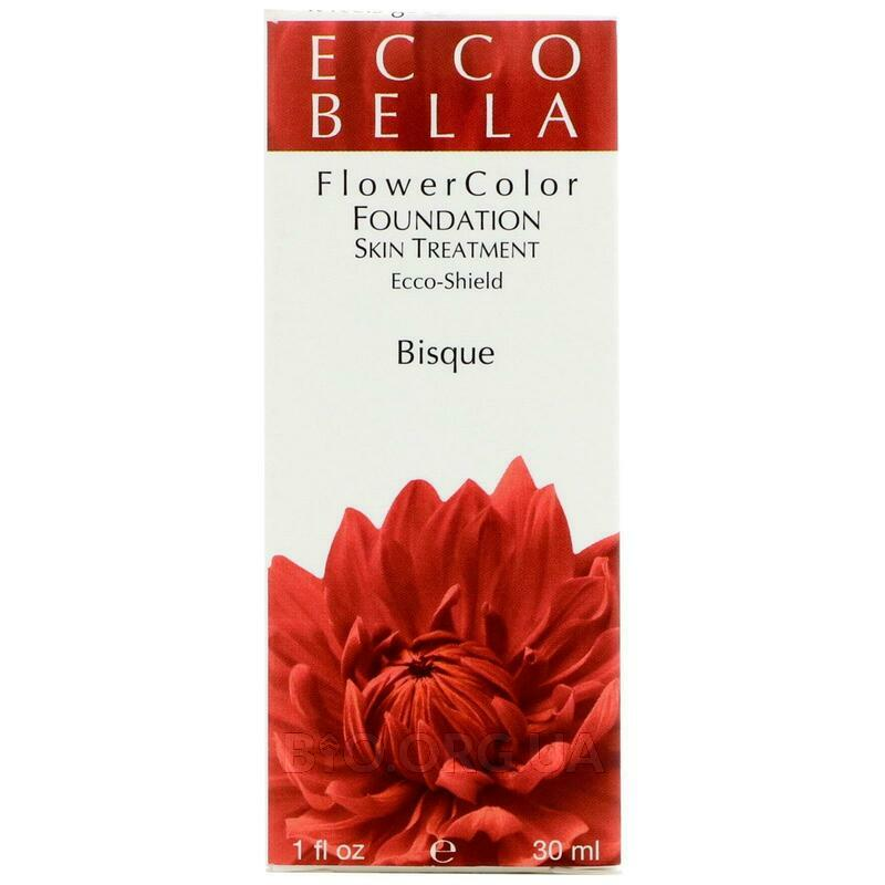 FlowerColor Foundation Skin Treatment In One SPF 15 Bisque 30 ml фото товара