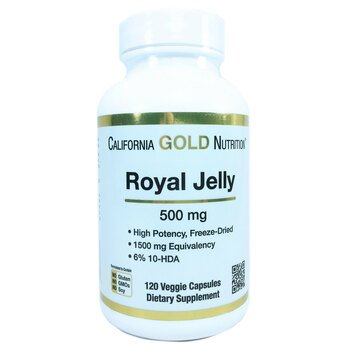Купить California Gold Nutrition Royal Jelly 500 mg 120 Veggie Caps