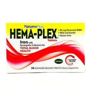 Купить Nature's Plus Hema-Plex 30 Sustained Release Tablets
