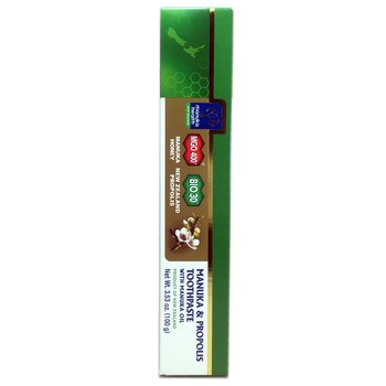 Купить Manuka Propolis Toothpaste With Manuka Oil 100 g (Хеалз Манука...