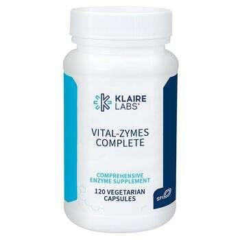 Купить Vital-Zymes Complete Digestive Enzymes DPP-IV 120 Capsules