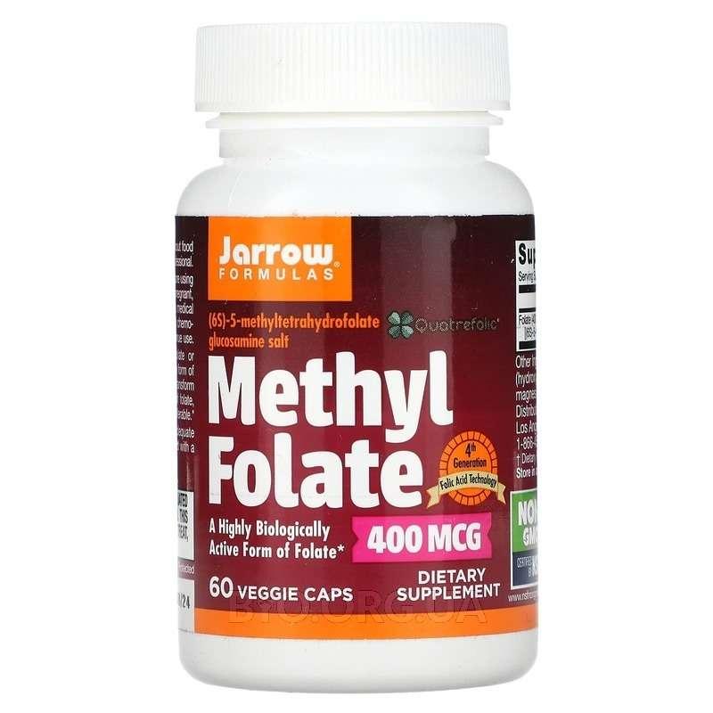 Метил Фолиевой кислоты 400 мкг 60 капсул фото товара